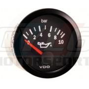 MANOMETRE VDO Cockpit Vision 0-10 bars pression d'huile
