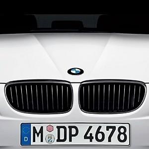 Calandre noir mat doubles barres BMW E90 E91 04 08 318D 320D 325D 330D 335D