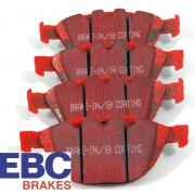 E36/E46/E85 PLAQUETTE AR EBC RED STUFF DP31289C