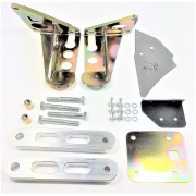 KIT SUPPORT M62 S62 + CALES 20MM + ACC POUR BMW E30
