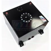 Réservoir d'essence aluminium 40 Litres noir ou alu