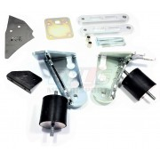 KIT SUPPORT M62 S62 + CALES 20MM + ACC + SB POUR BMW E30