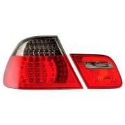 E46 CI 03-06 COUPE FEUX AR LED ROUGE/FUME