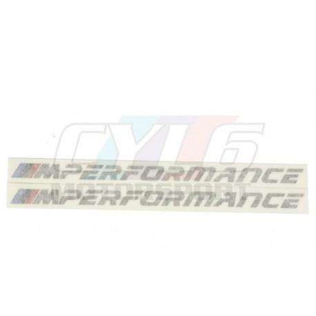 BMW PERFORMANCE PAIRE D AUTOCOLLANT NOUVEAU DESIGN BMW ORGINE