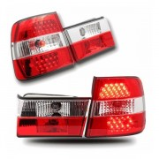 E34 BERLINE FEUX ARRIERES LED ROUGE DESIGN