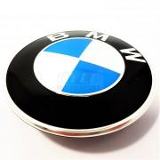 BADGE DE CAPOT 82mm BMW ORIGINE