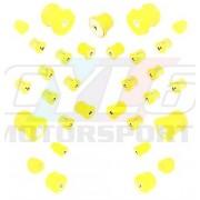 E8X E9X KIT SILENT-BLOCS COMPLET 90 SHORES E81 E82 E87 E88 E90 E91 E92 E93