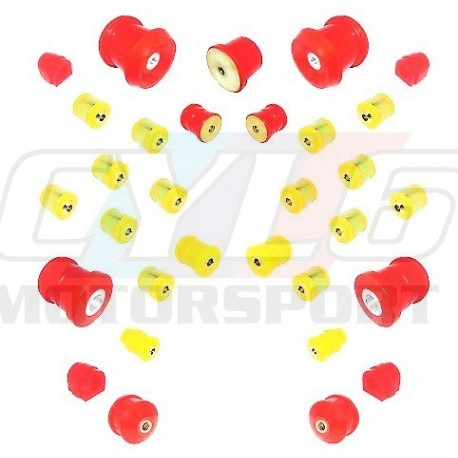 E8X E9X KIT SILENT-BLOCS COMPLET 80 SHORES E81 E82 E87 E88 E90 E91 E92 E93