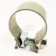 Collier HD en acier inoxydable - Ø 48-53 mm