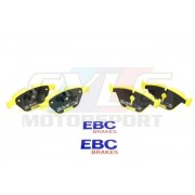 E9X E84 PLAQUETTES AV EBC YELLOW STUFF DP41512R 34116780711
