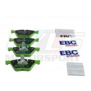 E9X/E84/E89 PLAQUETTES AV EBC GREEN STUFF  DP22077 34116771868