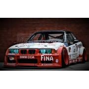 BMW SERIE 3 E36 M3 GTR KIT CARROSSERIE FIBRE RACING