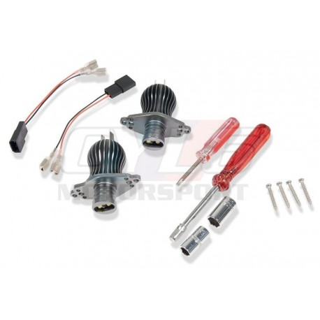 E90 E91 LCI FACELIFT KIT LED ANGEL EYES SANS XENON ORIGINE