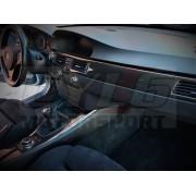 RECOUVREMENT D INSERT DE TABLEAU DE BORD BMW CARBONE
