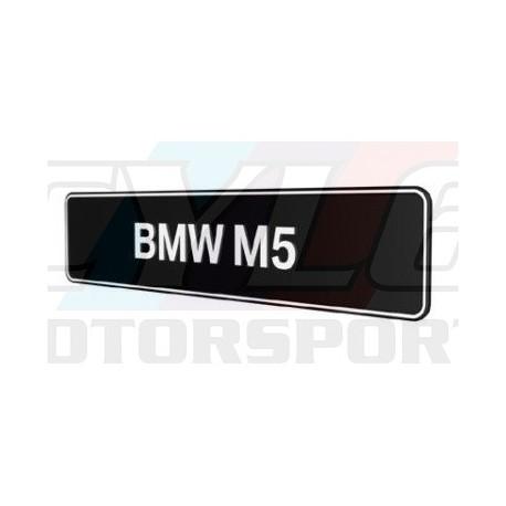 PLAQUES BMW M5 PROMOTIONNELLE M MOTORSPORT