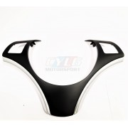 E92 E93 CACHE VOLANT MULTIFONCTION INSERT CHROME LATERAL