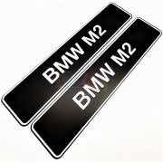PLAQUES BMW M2 PROMOTIONNELLE M MOTORSPORT
