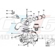 S50 BOITIER THERMOSTAT 11531401180 BMW ORIGINE
