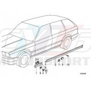 CACHE DROIT BAS DE CAISSE SOUS AILE IS BMW ORIGINE 51711947060 51-71-1-947-060