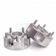 2x ELARGISSEUR DOUBLE BOULONNERIE 5x120 EP70mm SOIT 140 PAR VOIE AVEC GOUJONS IRP