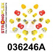 BMW X3 E83 03-10 KIT SILENT-BLOCS COMPLET STRONGFLEX 036246A 036246B