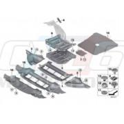 ANTI PARASITAGE COMPARTIMENT MOTEUR M2 CS F87 BMW ORIGINE