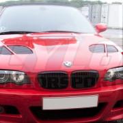 E46 98-03 COUPE/CABRIO CALANDRE BRILLANT BMW SERIE 3 E46