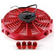 "VENTILATEUR 12"" 12V 1590m3/H rouge"