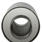 SILENCIEUX MONO-TUBE ROND Lg D'ABSORPTION 250 MM