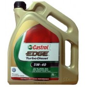CASTROL EDGE FST TURBO DIESEL 5W40 5 litres