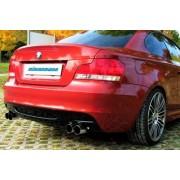 Eisenmann BMW E82 / E88 135i Silencieux arrière 4 x 76mm