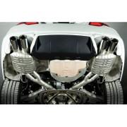 Eisenmann BMW F10 M5 silencieux PRO RACE 4 x 90mm