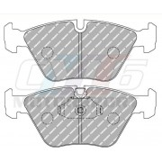 E39 TOURING 530D 4/00 7/03 540I 10/95 3/00 PLAQUETTES PERFORMANCE FERODO FDS1073