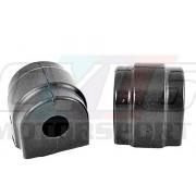 E46 E39 PAIRE SILENT-BLOCS BARRE STABILISATRICE AVANT Ø23mm POWERFLEX BLACK