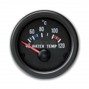 TEMPERATURE EAU 40-120°C MANOMETRE YOUNGTIMER FOND NOIR