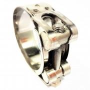 Collier en acier inoxydable - Ø 60-63.5 mm