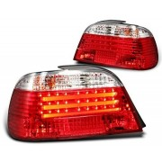 E38 94-01 FEUX AR LED DESIGN ROUGE BLANC